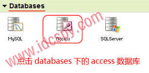 Godaddy开启access数据库