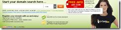 Godaddy注册com域名送免费info域名一年