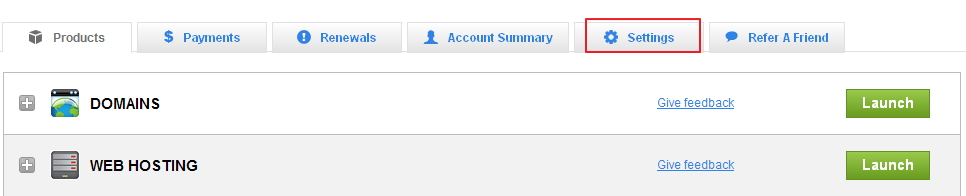 Godaddy美国主机修改账户个人信息图解