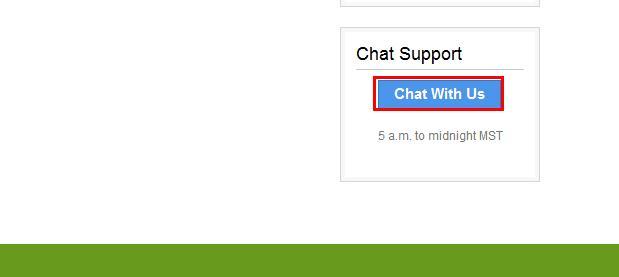 打开Live Chat聊天会话