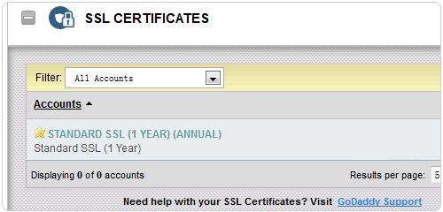 GoDaddy安装SSL证书详细图解(2018版)