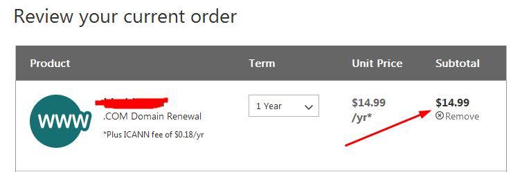 GoDaddy 9.74美元域名续费优惠码测试