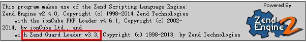 GoDaddy主机启用Zend Guard Loader测试