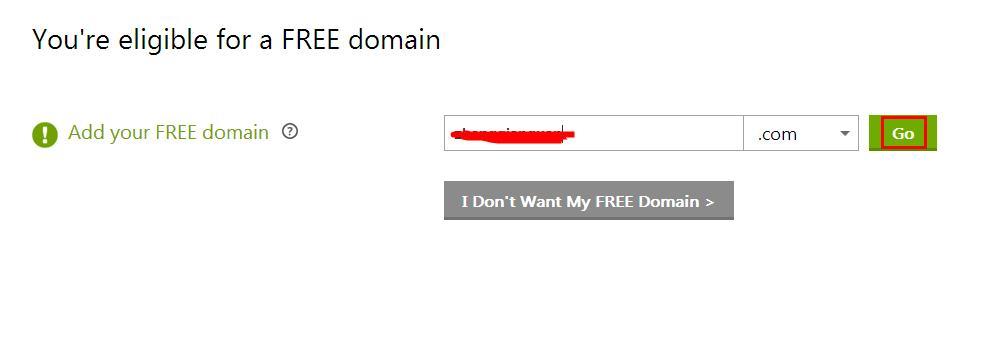 注册免费域名