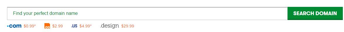 GoDaddy com域名五月新优惠