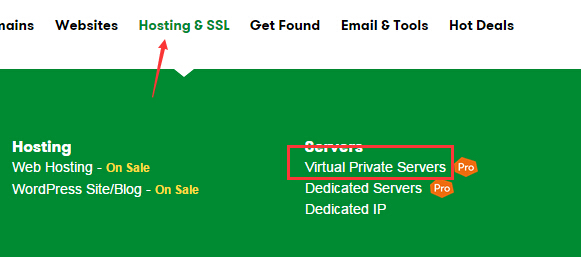 GoDaddy购买VPS主机图文教程