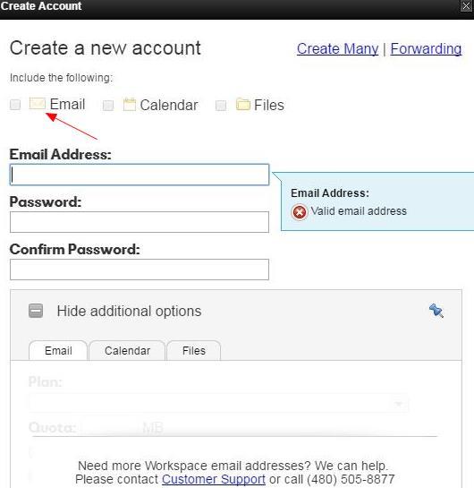 GoDaddy免费邮箱无法创建的原因分析