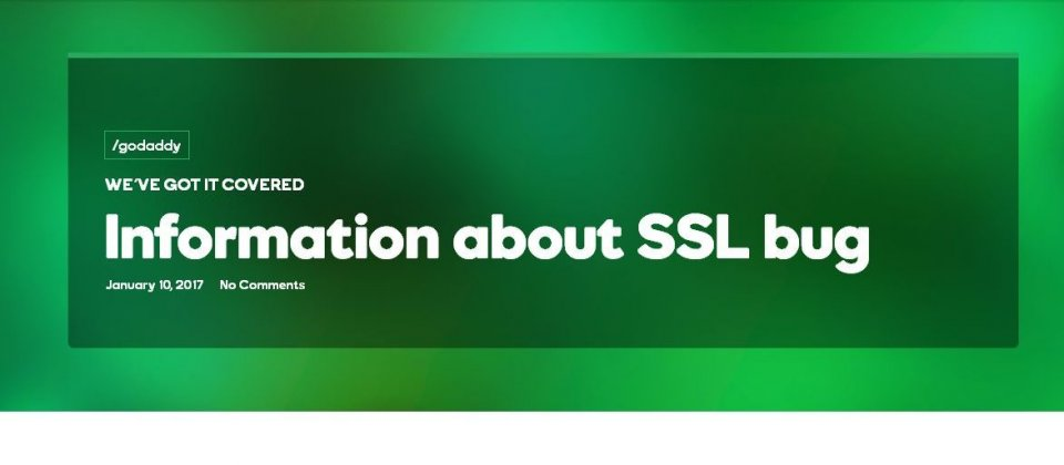 GoDaddy误发近9000份未经正确验证的SSL证书现已撤销