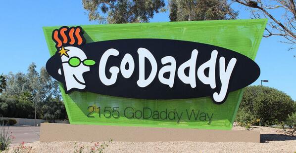 全球域名主机服务商GoDaddy更换全新Logo